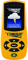 StrikeAlert HD Personal Lightning Detector
